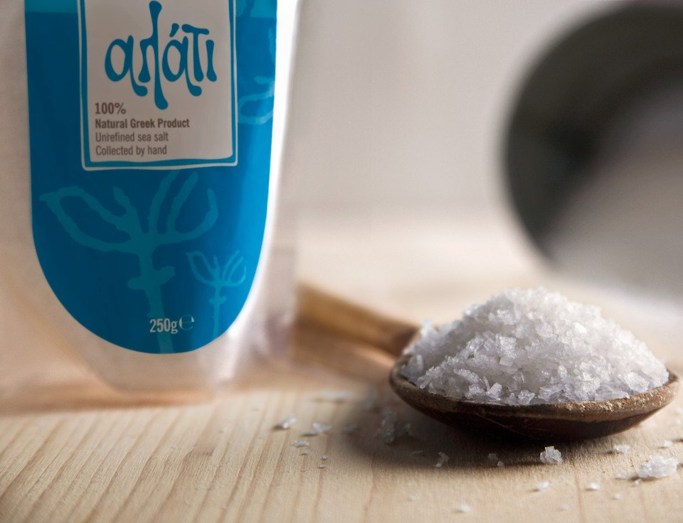 Family Farms unrefined Sea Salt from the island of Kythera